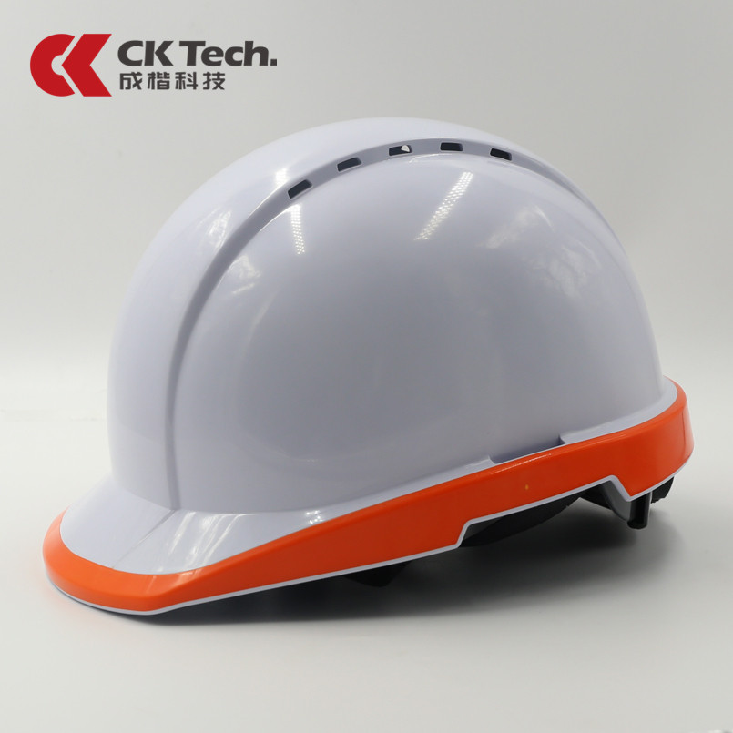 CK Tech.Safety Helmet Work Cap Fluorescent Hard Hat Construction Protective Helmets Breathable