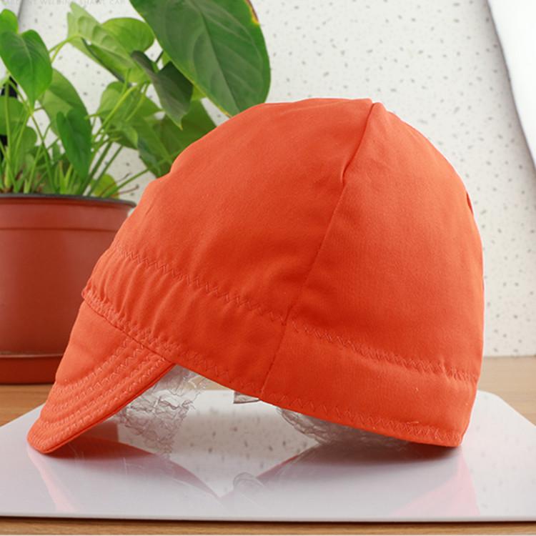 Flame retardant electric welding dust cap welder headgear hat welder fire retardant cap