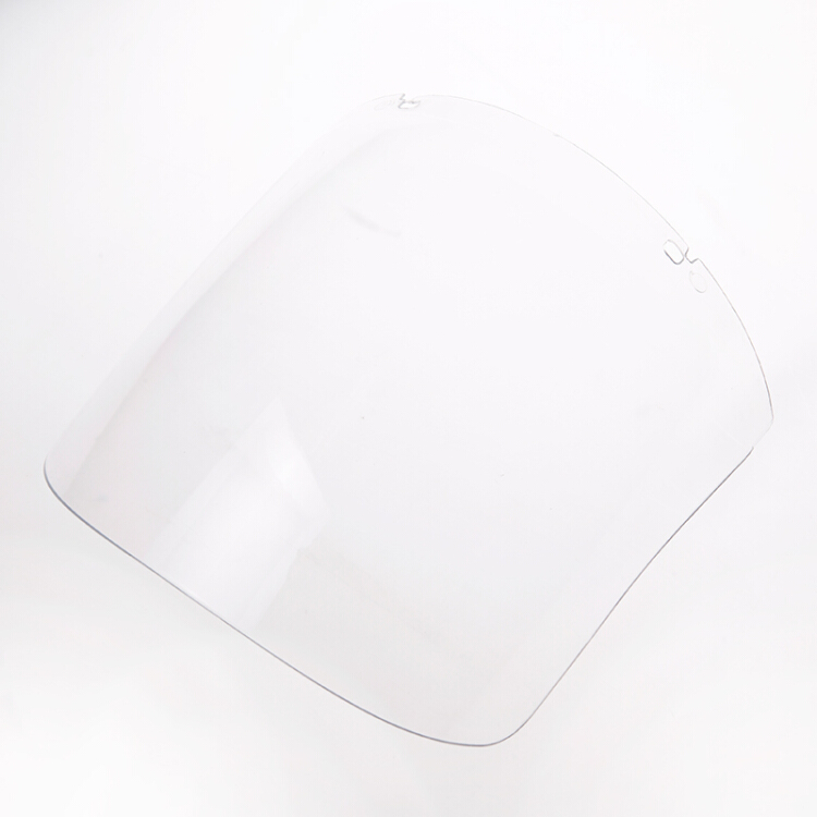 CK-Tech Protective face mask accessories, face screen accessories / white transparent