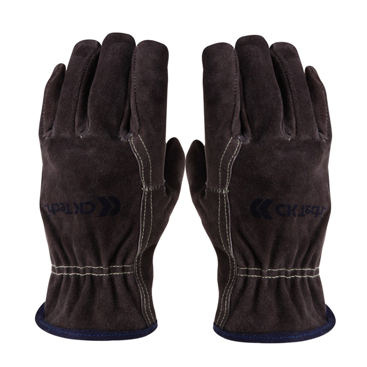 Professional Wear-Resistant Electric Welder Thickened High Temperature Labor Protection Cowhide
